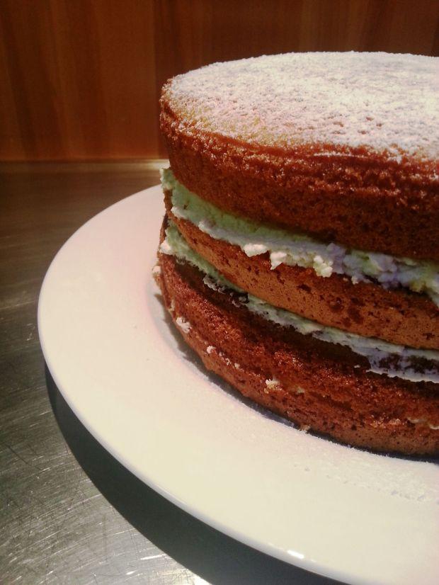 Lemony Butter Sponge Cake