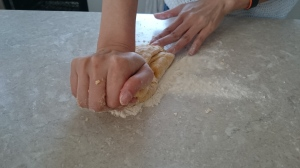 knead the dough