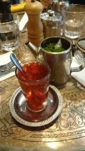 One of the mint tea